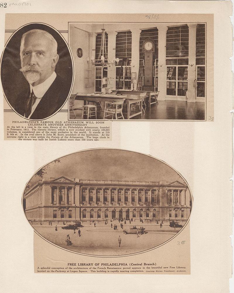 Castner Scrapbook v.15, Sundry Buildings 1, page 82