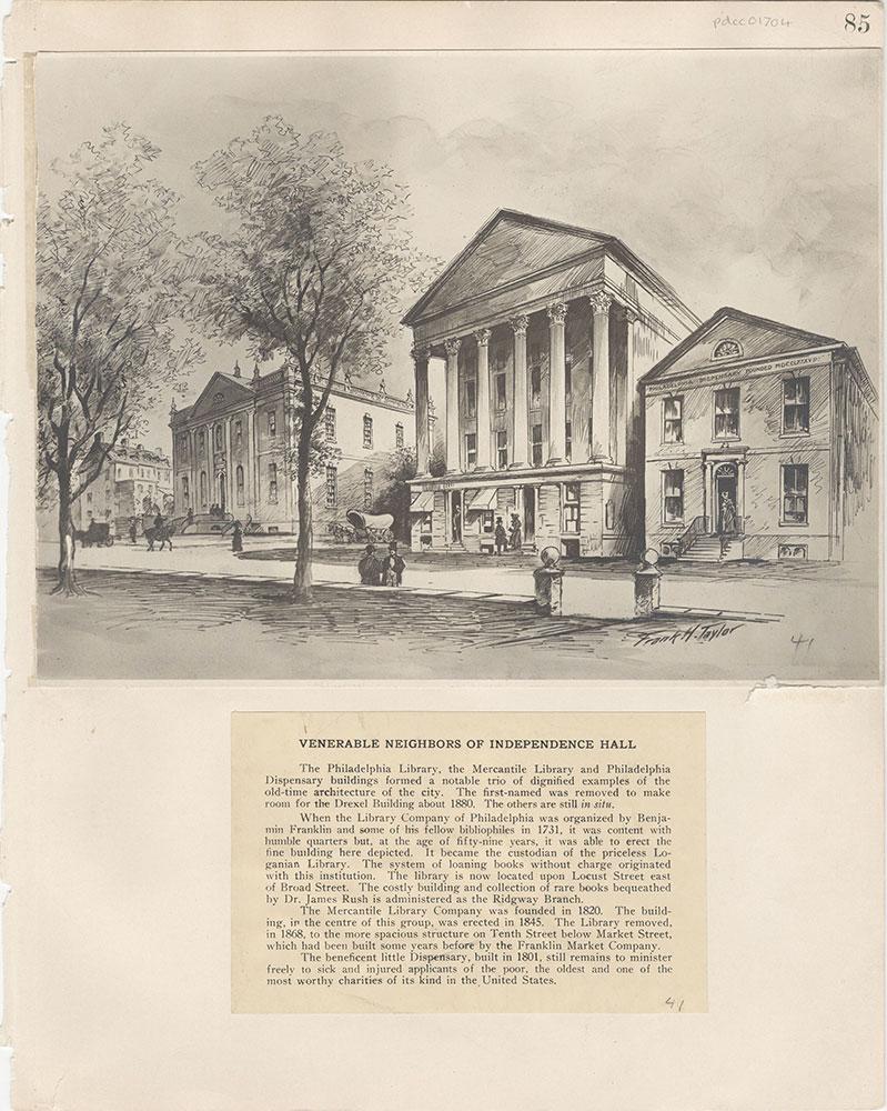Castner Scrapbook v.15, Sundry Buildings 1, page 85