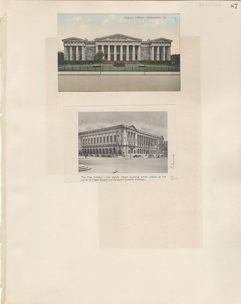 Castner Scrapbook v.15, Sundry Buildings 1, page 87