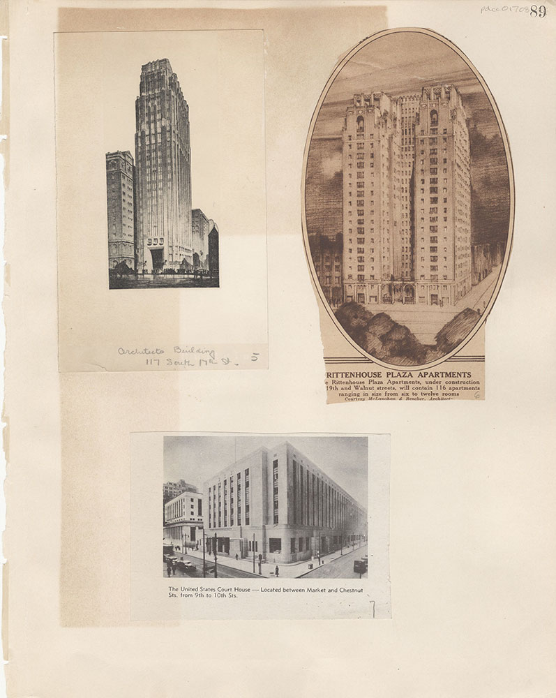 Castner Scrapbook v.15, Sundry Buildings 1, page 89