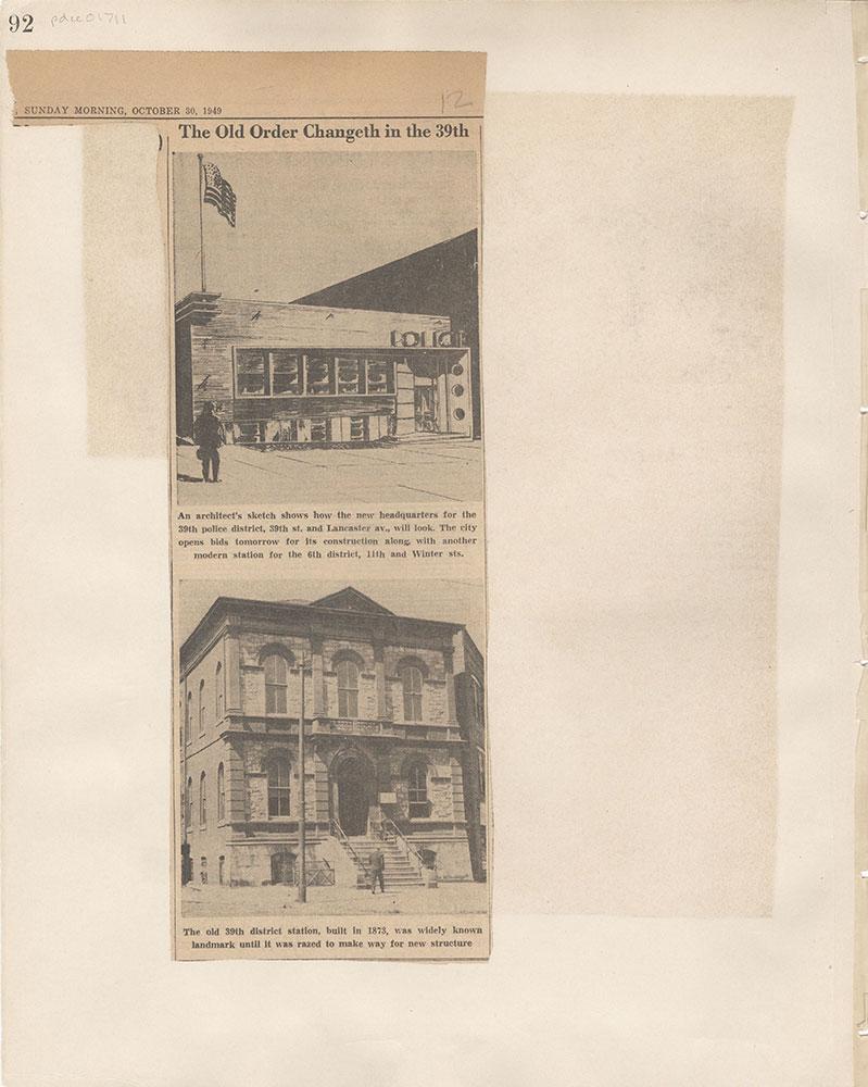 Castner Scrapbook v.15, Sundry Buildings 1, page 92