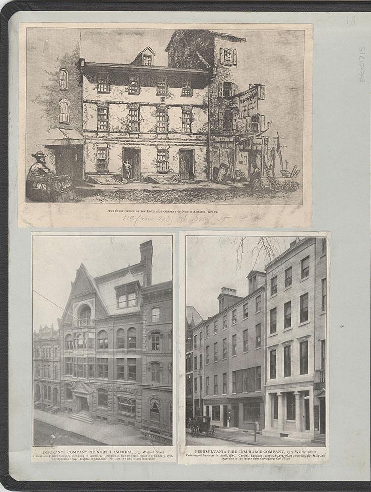 Castner Scrapbook v.16, Companies 1, page 1A (inside front cover)