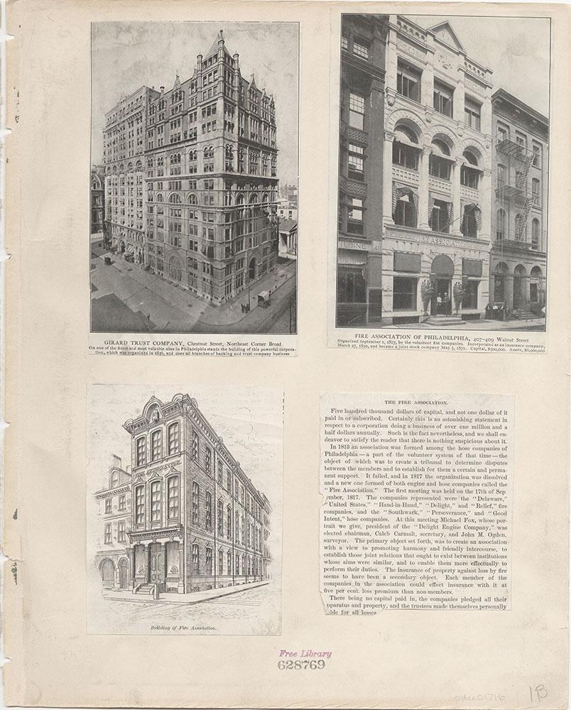 Castner Scrapbook v.16, Companies 1, page 1B