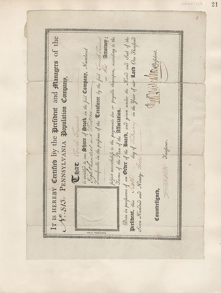 Castner Scrapbook v.16, Companies 1, page 21