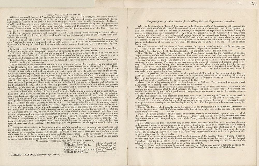 Castner Scrapbook v.16, Companies 1, page 25