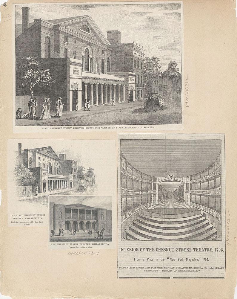 Castner Scrapbook v.2, Theatres, page 4