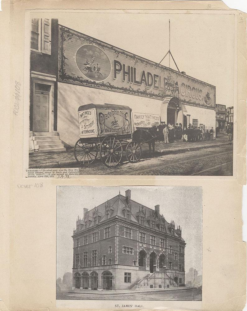Castner Scrapbook v.2, Theatres, page 11