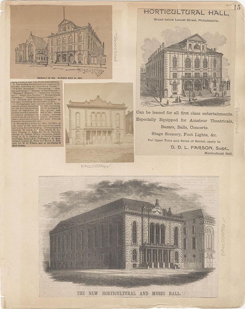 Castner Scrapbook v.2, Theatres, page 15