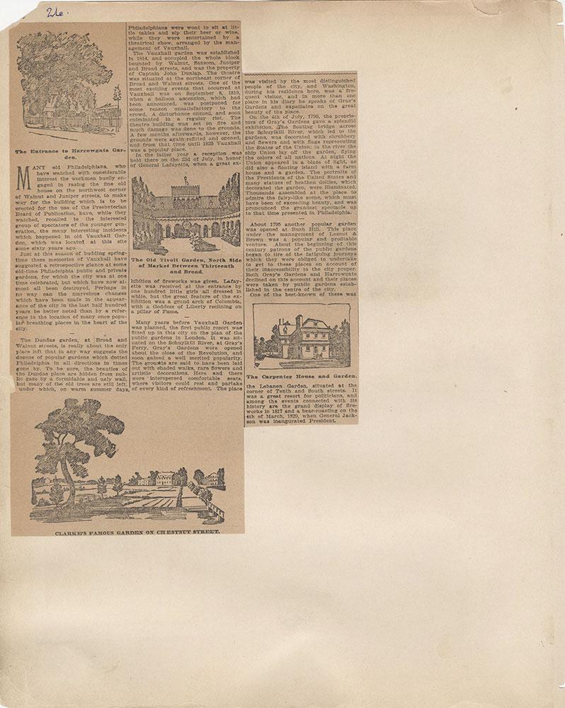 Castner Scrapbook v.2, Theatres, page 26