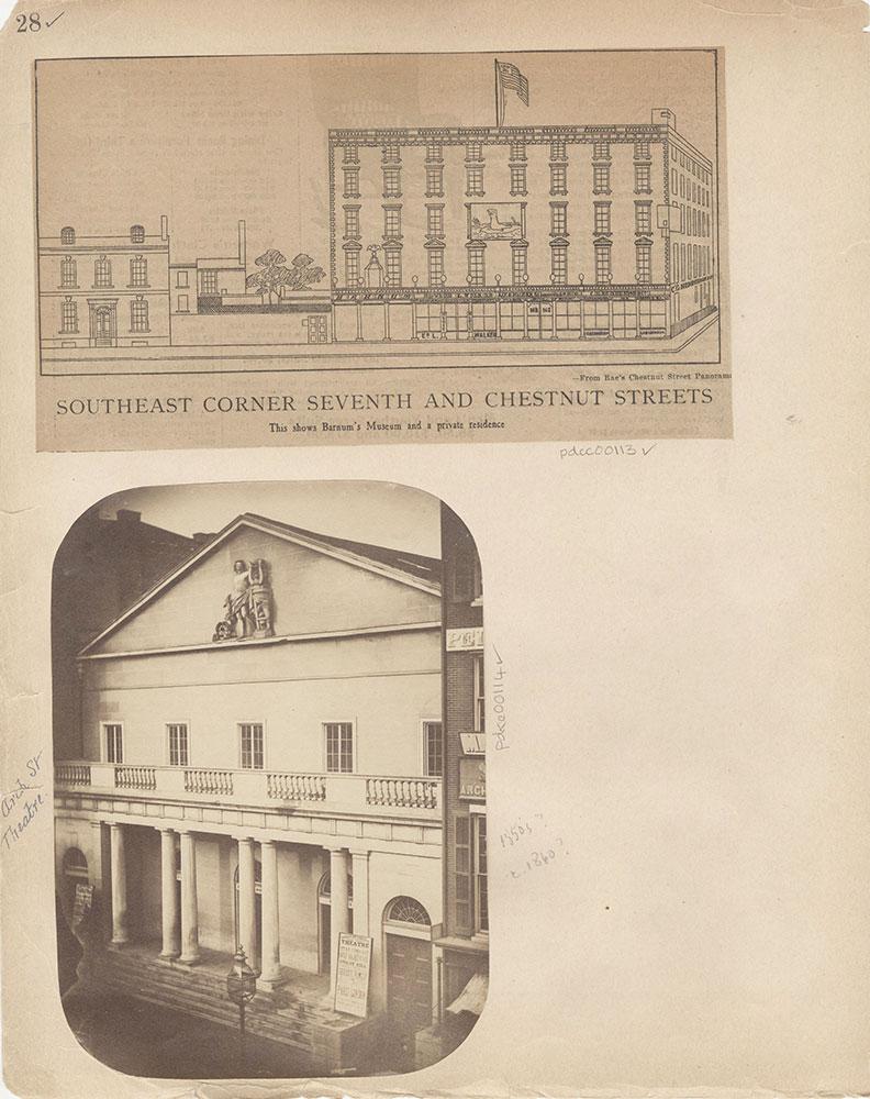 Castner Scrapbook v.2, Theatres, page 28