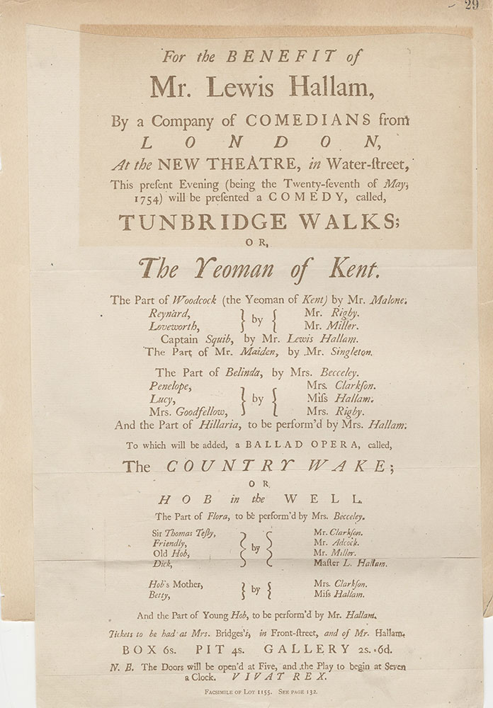 Castner Scrapbook v.2, Theatres, page 29