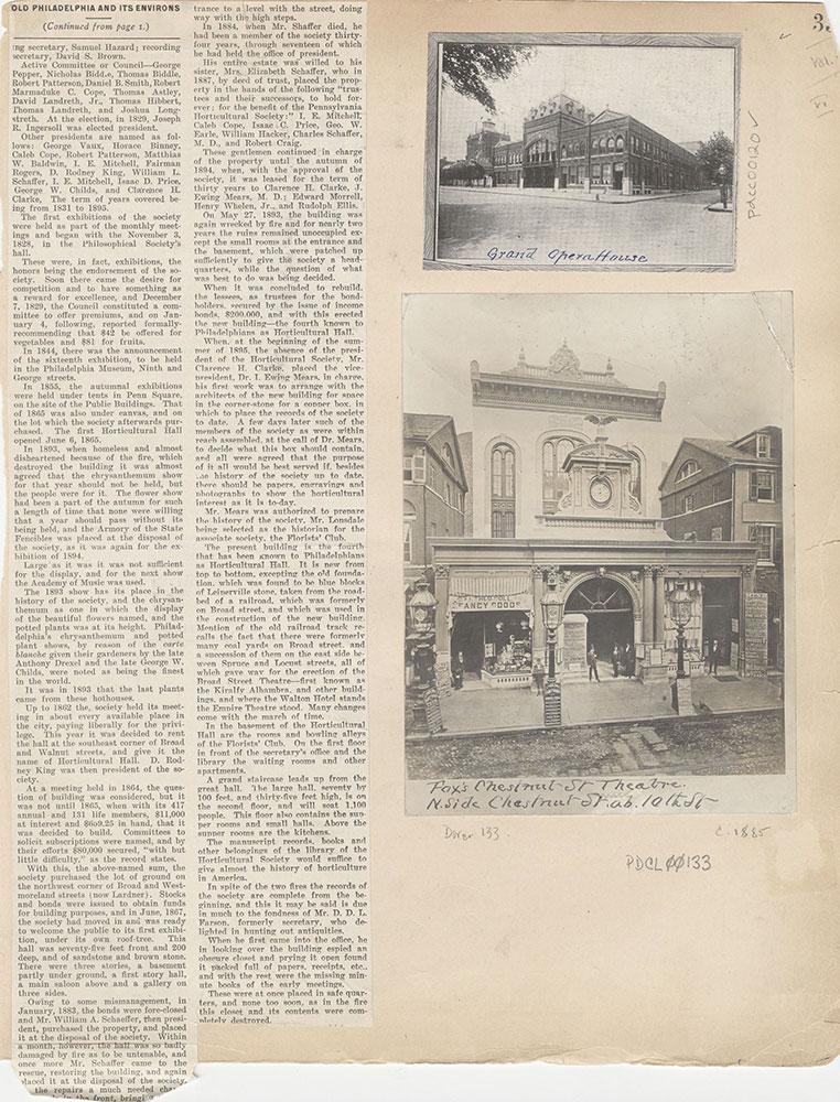 Castner Scrapbook v.2, Theatres, page 35