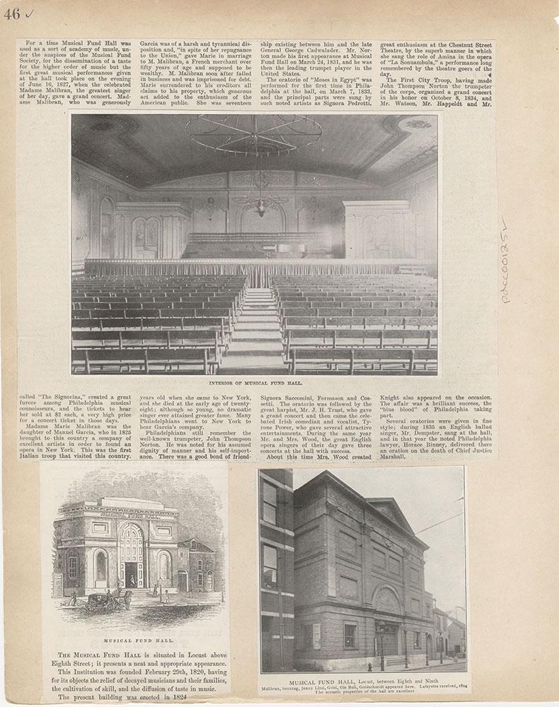 Castner Scrapbook v.2, Theatres, page 46