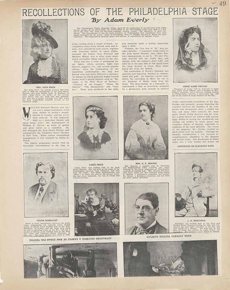 Castner Scrapbook v.2, Theatres, page 49