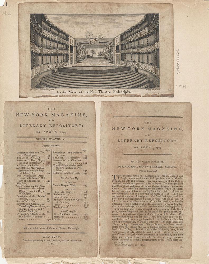 Castner Scrapbook v.2, Theatres, page 54