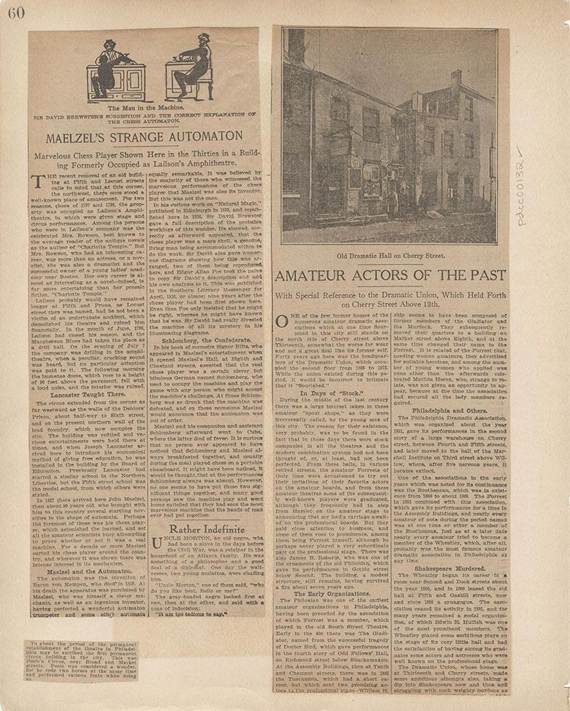 Castner Scrapbook v.2, Theatres, page 60