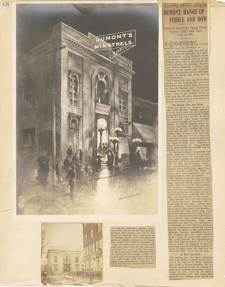 Castner Scrapbook v.2, Theatres, page 68