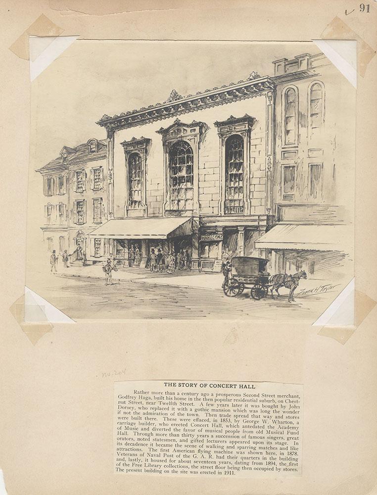 Castner Scrapbook v.2, Theatres, page 91