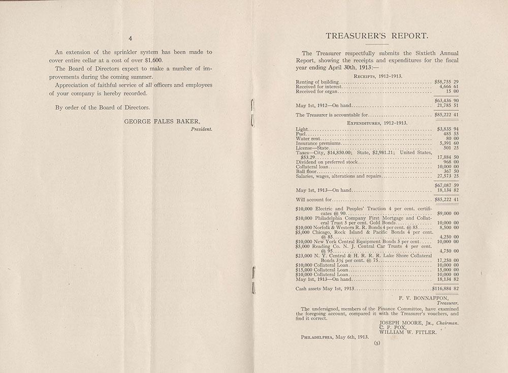 Castner Scrapbook v.2, Theatres, page 99 (inside back cover)