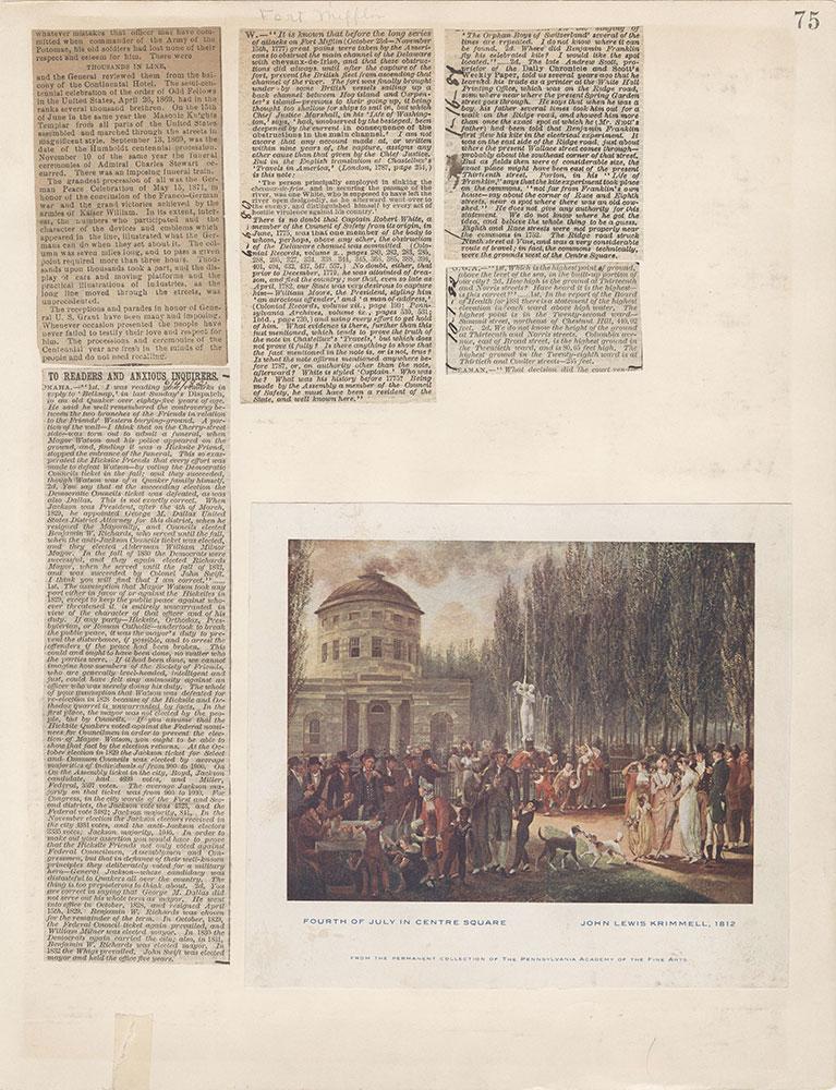 Castner Scrapbook v.3, Events 2, page 75
