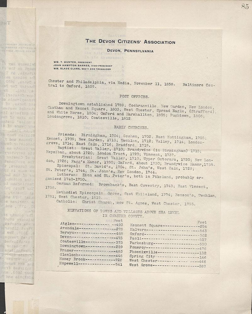 Castner Scrapbook v.3, Events 2, Page 85