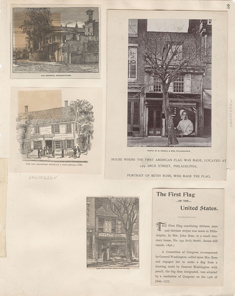 Castner Scrapbook v.4, Old Houses 1, page 3