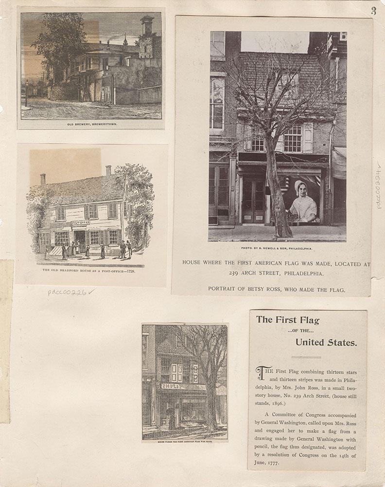 Castner Scrapbook v.4, Old Houses 1, page 3