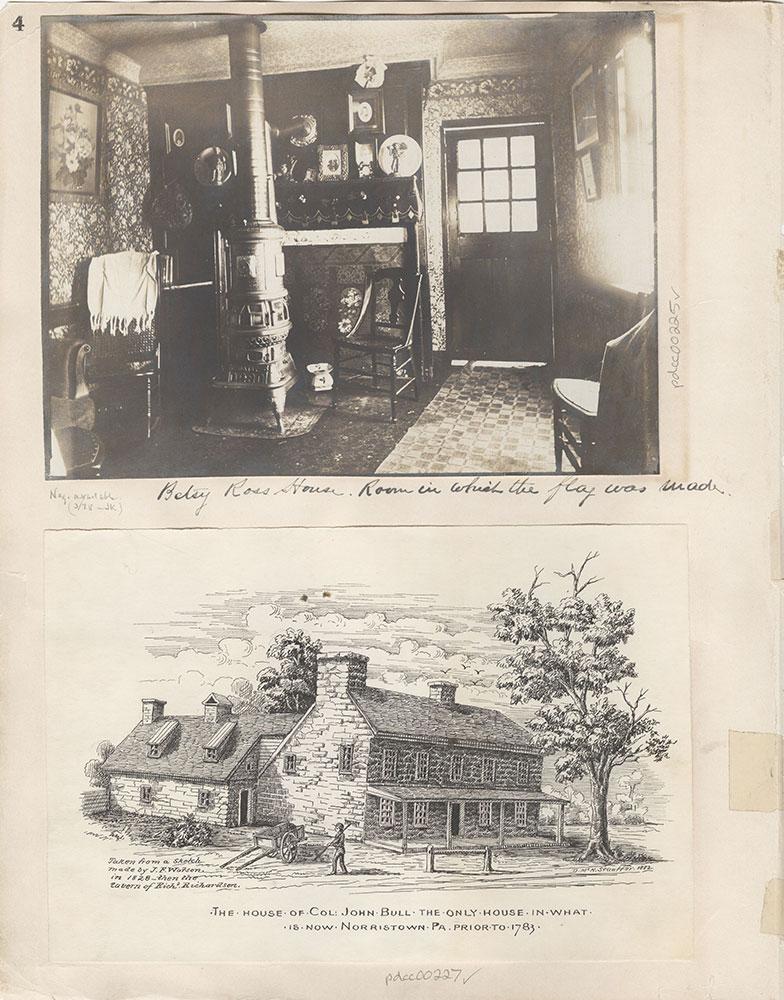 Castner Scrapbook v.4, Old Houses 1, page 4