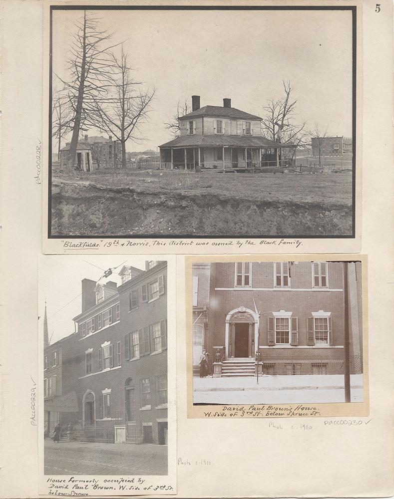 Castner Scrapbook v.4, Old Houses 1, page 5