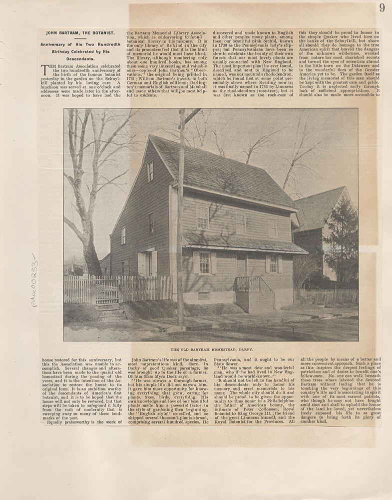 Castner Scrapbook v.4, Old Houses 1, page 9