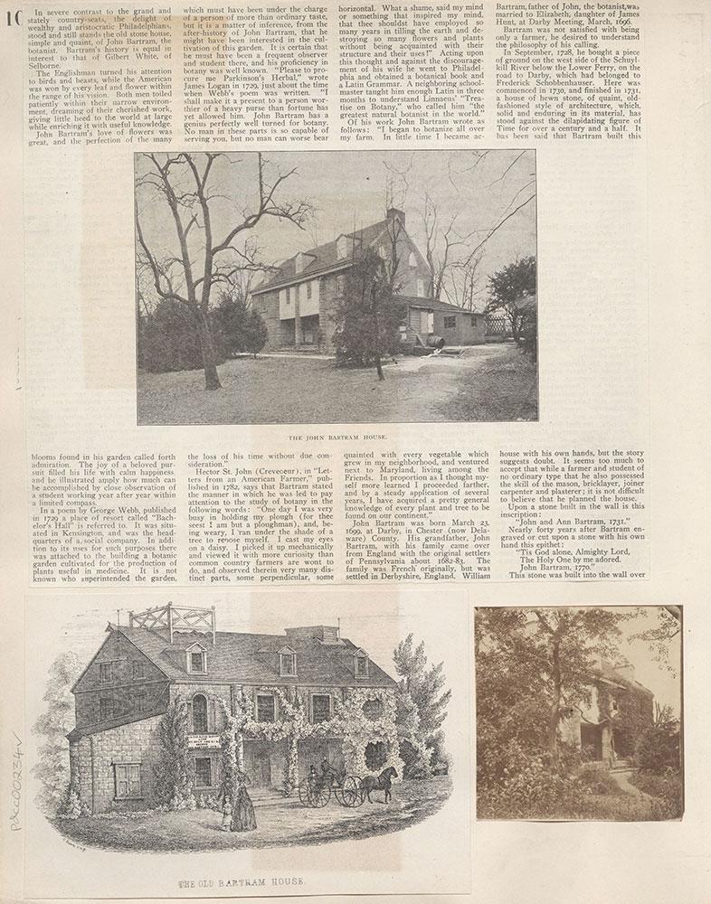 Castner Scrapbook v.4, Old Houses 1, page 10