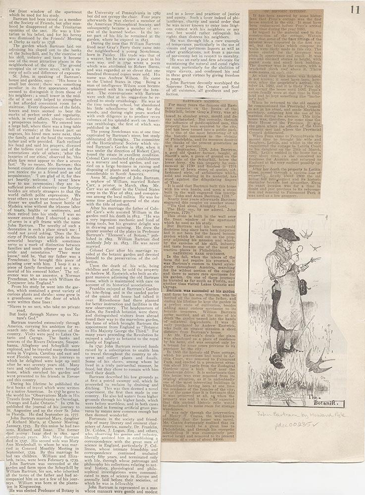 Castner Scrapbook v.4, Old Houses 1, page 11