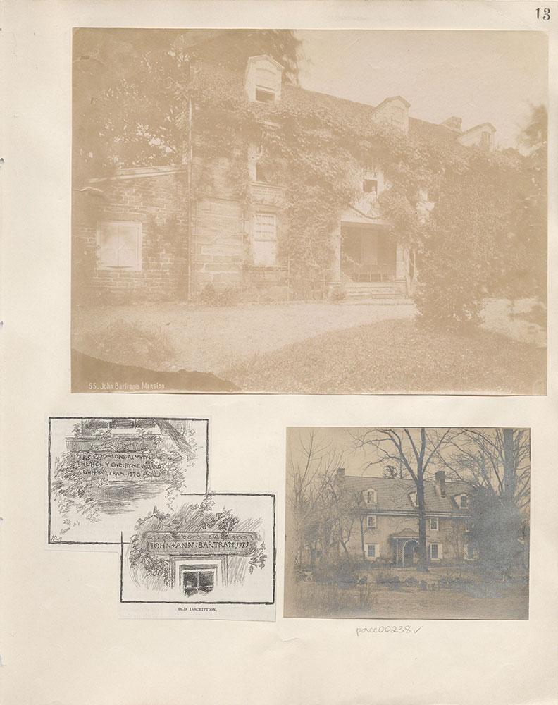 Castner Scrapbook v.4, Old Houses 1, page 13