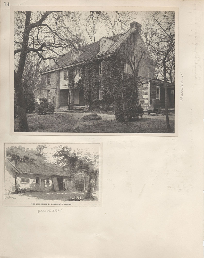 Castner Scrapbook v.4, Old Houses 1, page 14