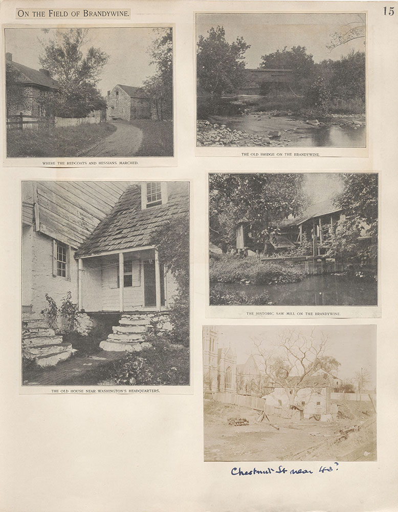 Castner Scrapbook v.4, Old Houses 1, page 15