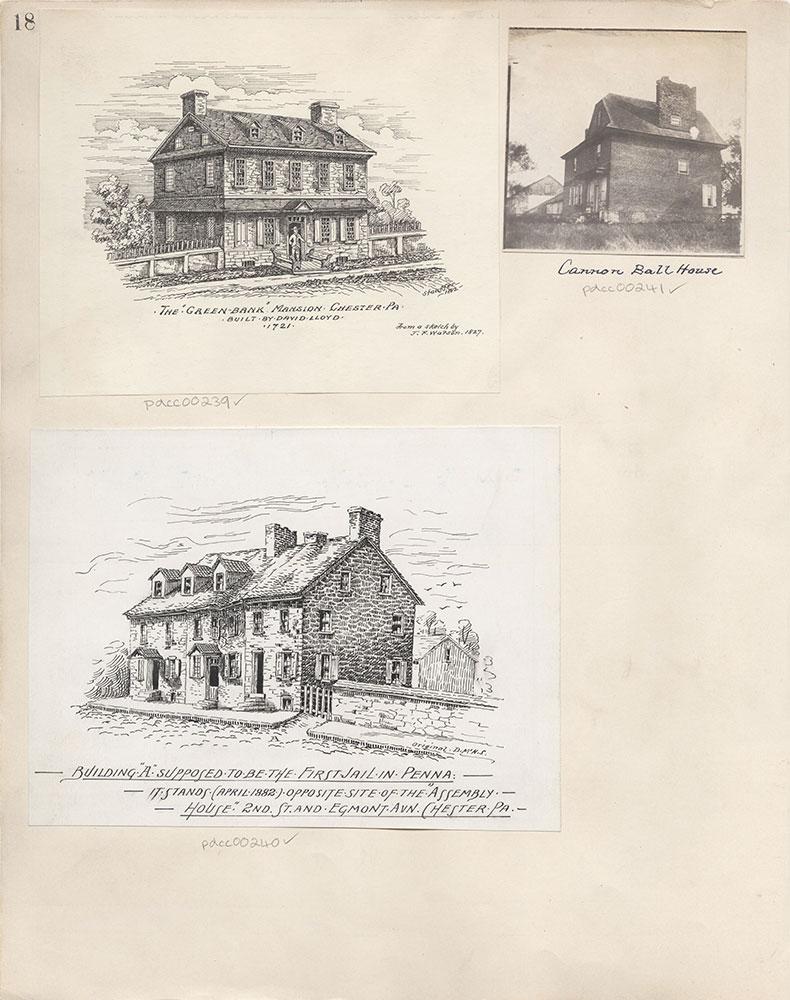 Castner Scrapbook v.4, Old Houses 1, page 18