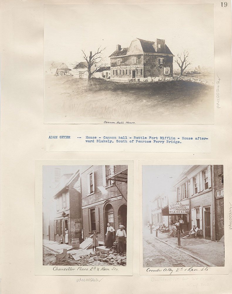 Castner Scrapbook v.4, Old Houses 1, page 19