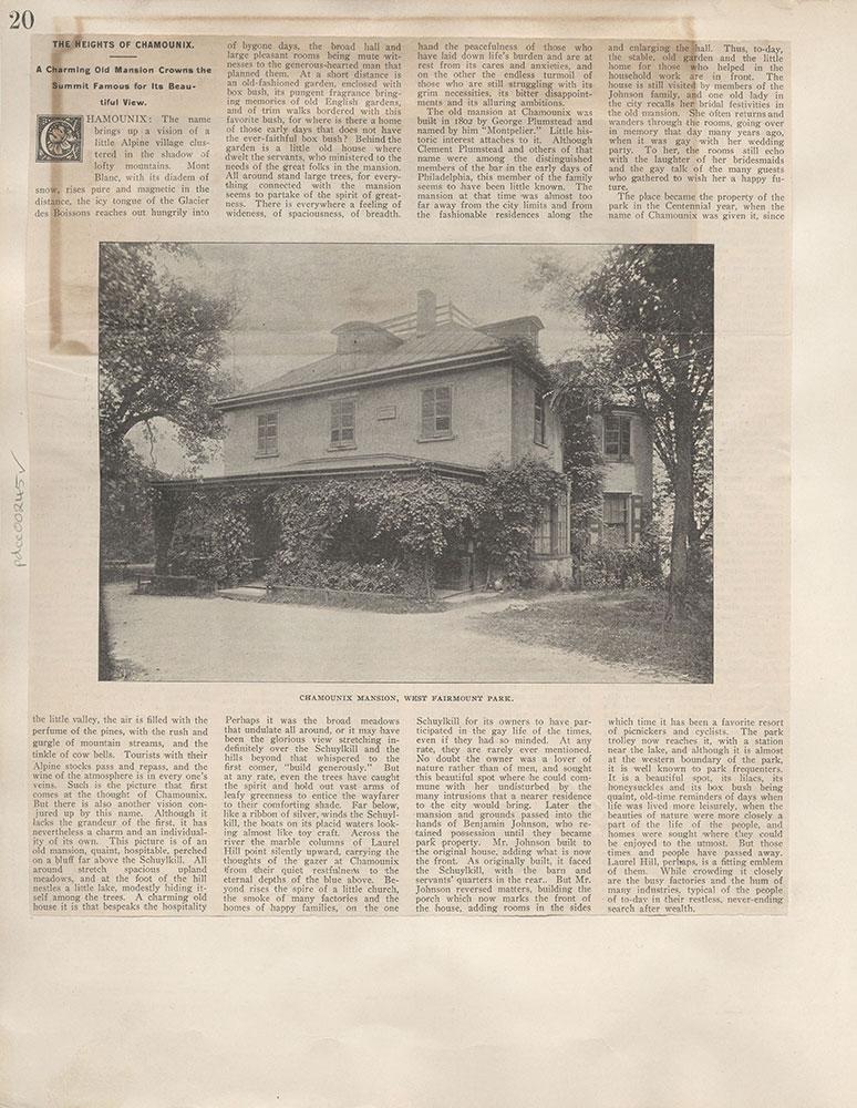 Castner Scrapbook v.4, Old Houses 1, page 20