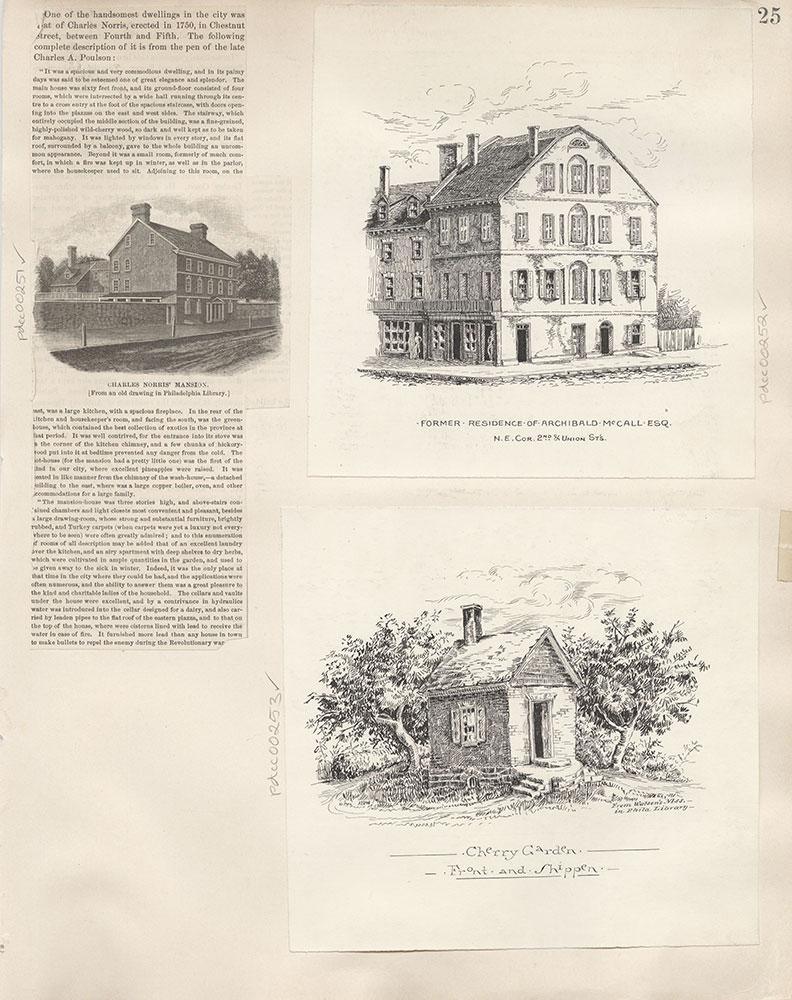 Castner Scrapbook v.4, Old Houses 1, page 25