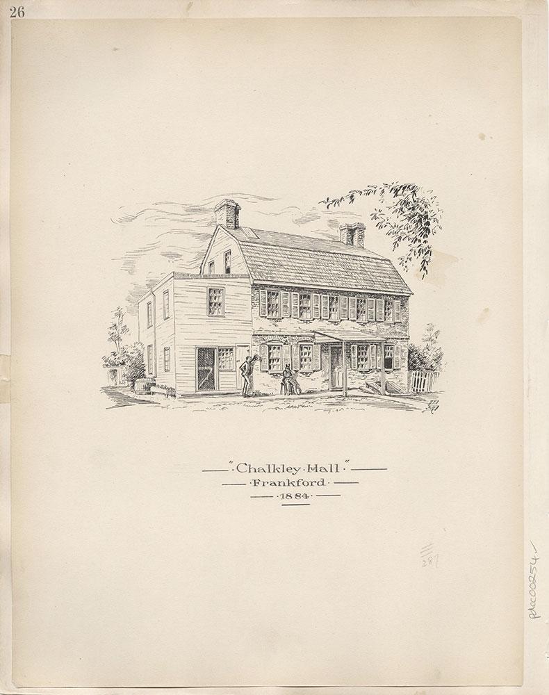 Castner Scrapbook v.4, Old Houses 1, page 26