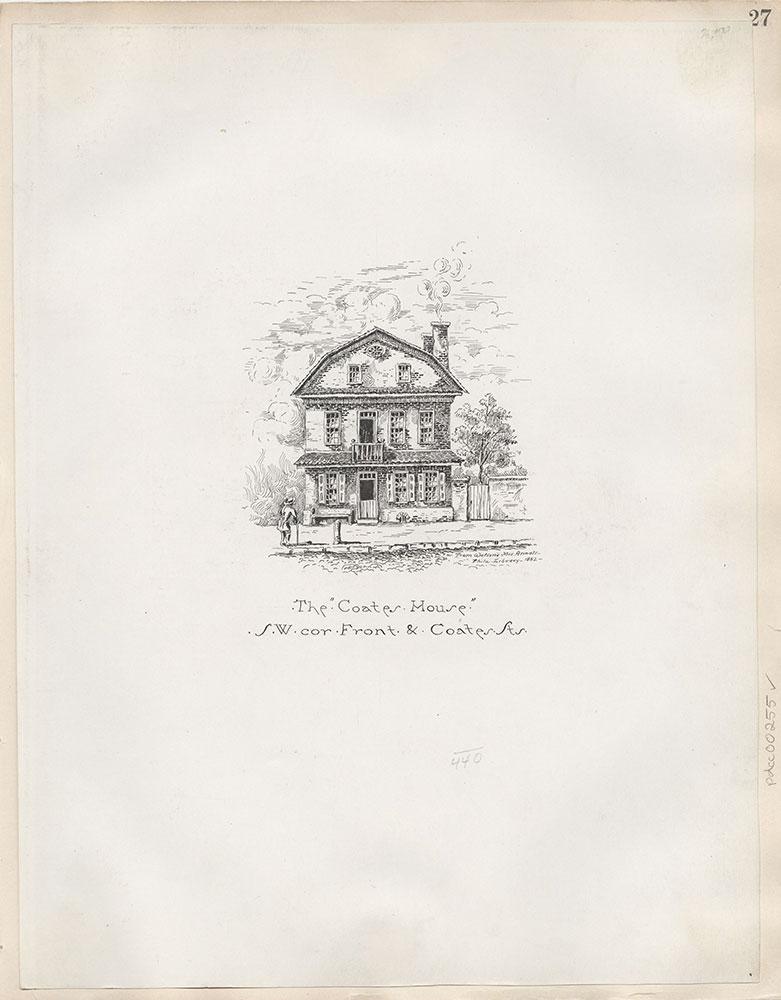 Castner Scrapbook v.4, Old Houses 1, page 27