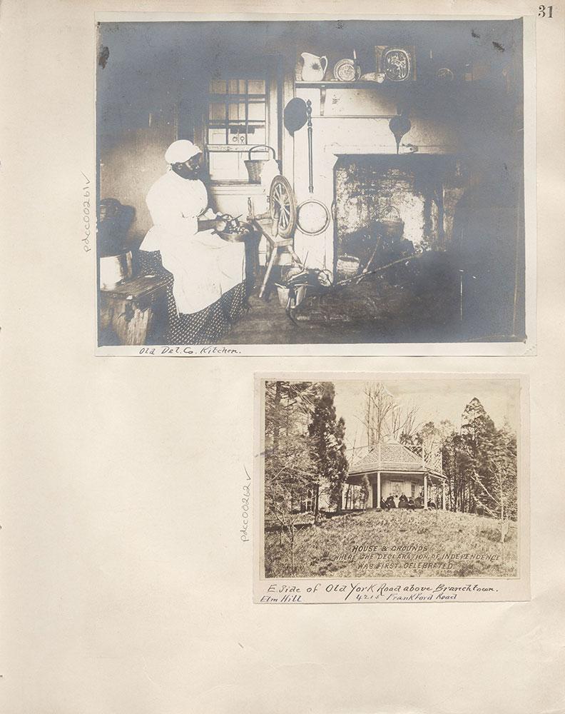 Castner Scrapbook v.4, Old Houses 1, page 31