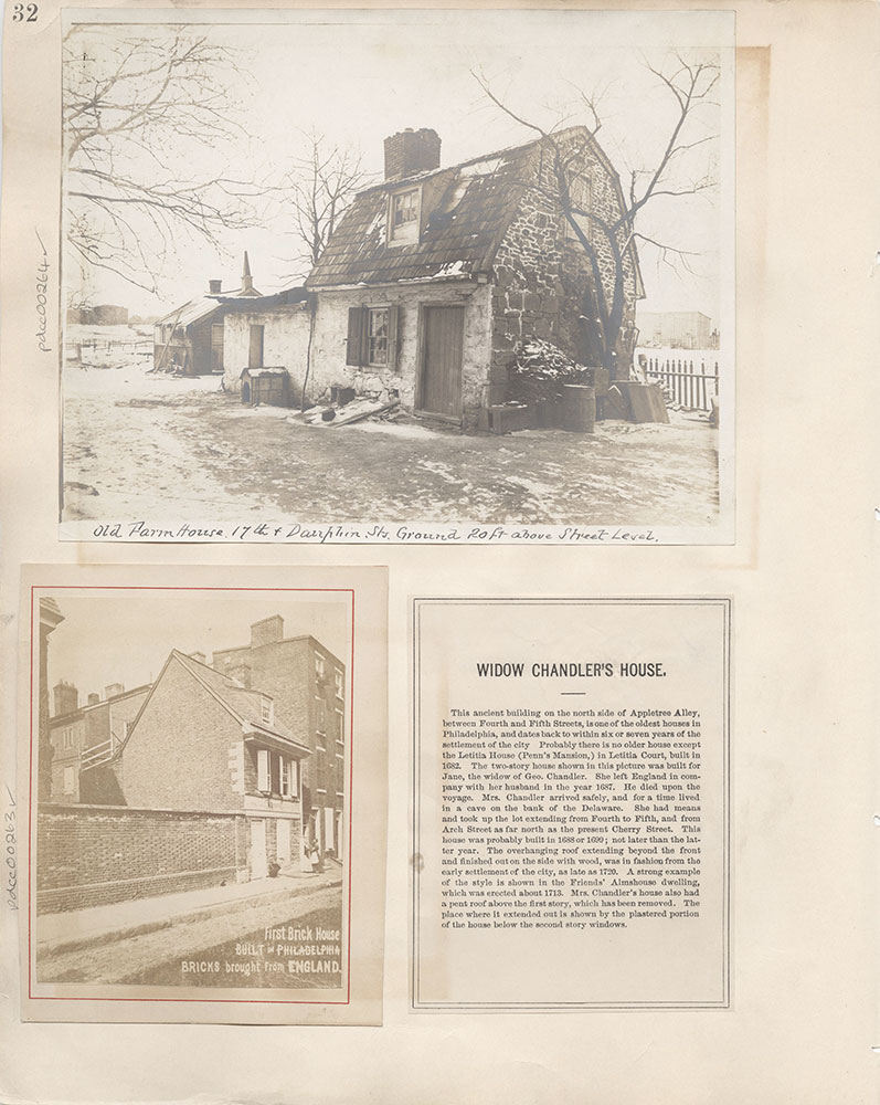 Castner Scrapbook v.4, Old Houses 1, page 32