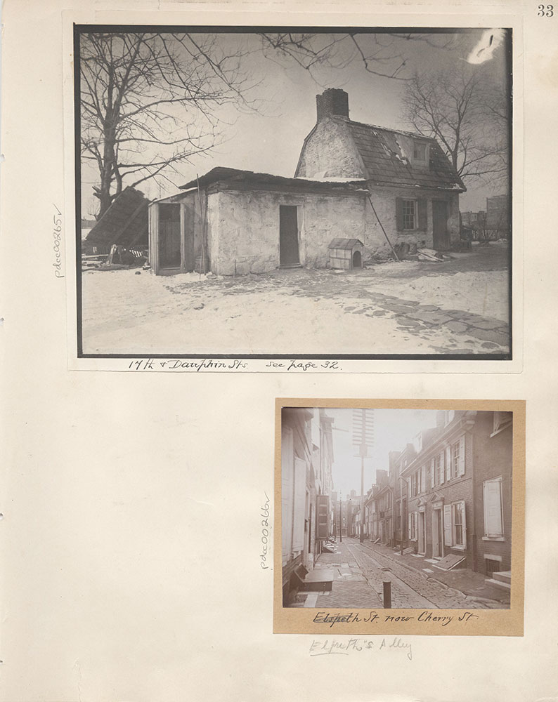 Castner Scrapbook v.4, Old Houses 1, page 33