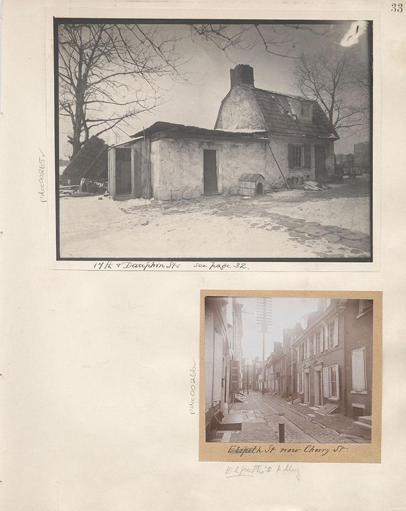 Castner Scrapbook v.4, Old Houses 1, page 33