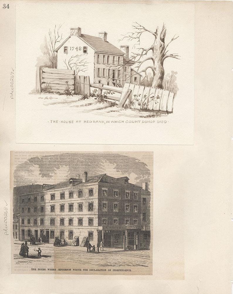 Castner Scrapbook v.4, Old Houses 1, page 34