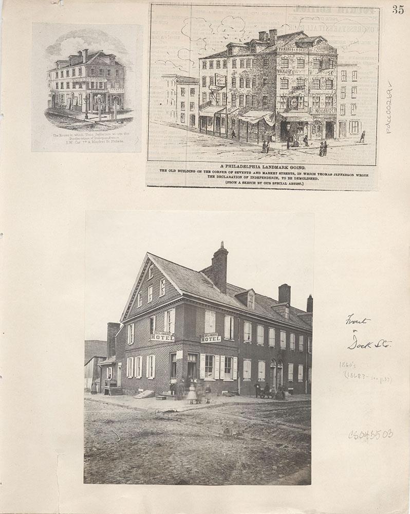 Castner Scrapbook v.4, Old Houses 1, page 35