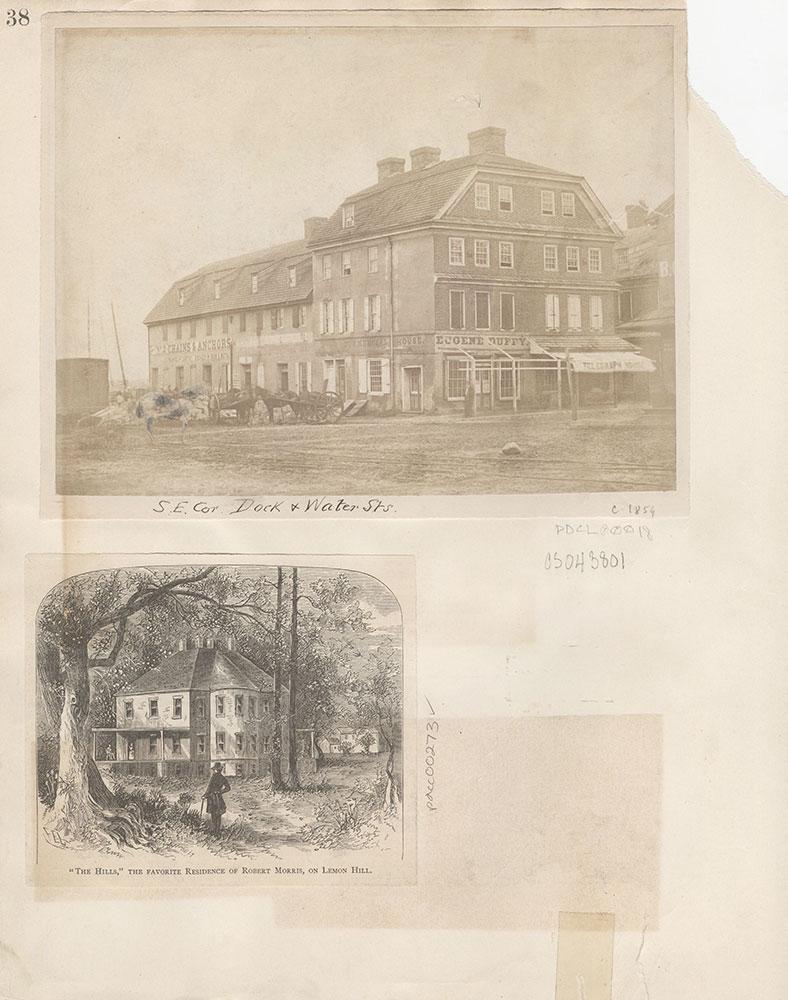 Castner Scrapbook v.4, Old Houses 1, page 38