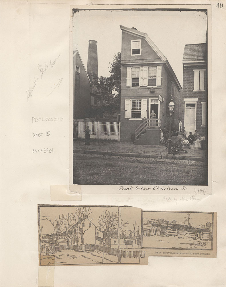 Castner Scrapbook v.4, Old Houses 1, page 39