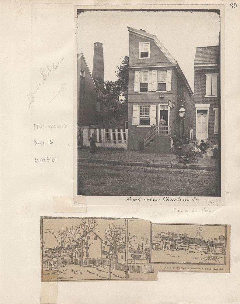 Castner Scrapbook v.4, Old Houses 1, page 39